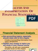 Intro to Fin St 2- Analysis