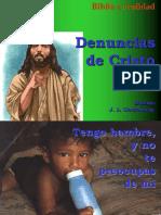 Denuncias de Cristo