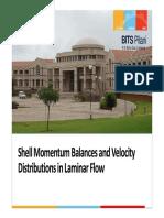 2 - Shell Momentum Balance