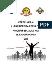 Kertas Kerja Larian Merentas Desa & Program Berjalan Kaki