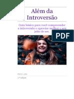 Além Da Introversão _ Marta Leite