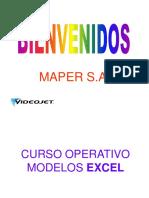 Curso VideoJet Excel Operativo