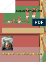 BAB II a. Tahapan Perkemb, BAB IV Deteksi Dini Tumbang