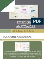 Anatomia Posiciones Anatomicas
