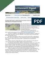 Pa Environment Digest April 16, 2018