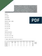 solución programación lineal método gran m