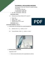 Dotaciones y Calculo de Rebose