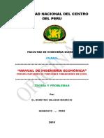 Curso de Ing. Economica Excel 2015