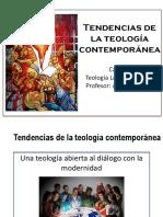 Tendencias de La Teología Contemporánea