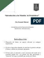 Introduccion a Los Modelos de Pronosticos