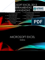 Microsoft Excel 2013, 1. Datos