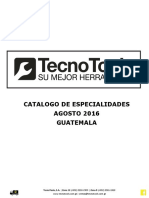 Catalogo 2016 Tecno Tools