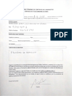 Formulario Término de Contrato