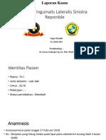 ppt Laporan Kasus anestesi spinal