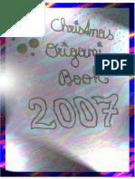 Christmas Origami Book 2007 Oso Panda