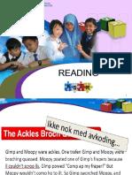Reading Year 6 KSSR