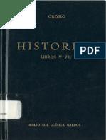 Historias Paulo Orosio Libros v-VII