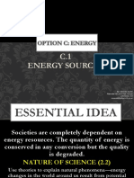 c.1 Energy Sources