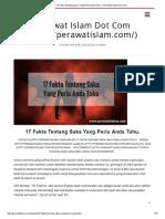17 Fakta Tentang Saka Yang Perlu Anda Tahu. _ _ Perawat Islam Dot Com