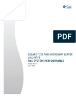 Solaris zfs vs Microsoft Server 2003