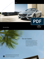 Mercedes Benz s Class Ac217 Brochure 9579 de 03 2016