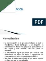 6. Normalizacion