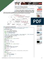Verilog Code for Car Parking System - FPGA4student