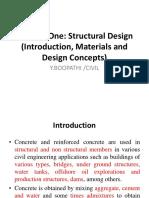 C-1 Concrete Structures Part 1