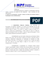 151-2017-01 - Intervencao HCSS - Recomendacao - BM-2