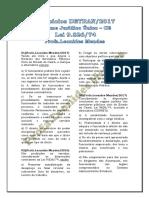 TD Exercícios Estatuto Servidor CE