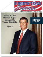 The North Texas Journal v23n37