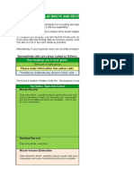 150811_Waste and Recycling Reporting Template - EXAMPLE