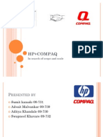 HPQ - HP and Compaq merger
