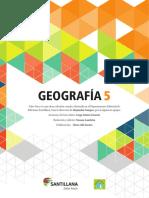 Geografia Santillana 5