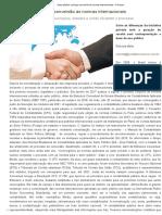 Setor Público Começa Conversão Às Normas Internacionais - Fenacon