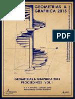 Geometrias & Graphicas 2015 Proceedings