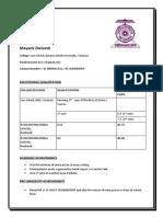 Mayank Dwivedi CV Real