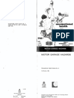 Motor Garage Hazards Manual