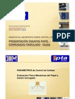 Presentación CARTÓN CORRUGADO - PAPEL IDM