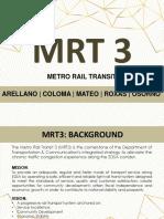 EDSA MRT3 Project Study _v2