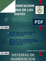 Representacion Interna de Los Datos