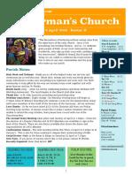 st germans newsletter - 8 april 2018