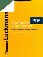 Luckmann 2008 Construccion Comunicativa Del Mundo Social