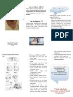 Leaflet Gangren Diabetik