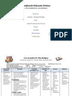 Planificacion Artistica Prof. Maria Francisca 1 Ro