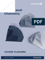 As and a Level Chemistry Course Planners