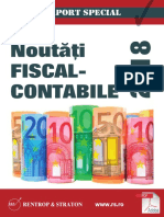 Raport Special Modif 2018 Cod Fiscal