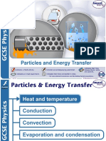 Particles and Energy Transfer