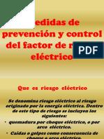 medidas d eprevencion y control del factor del riesgo electrico