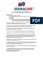 Thermaline ST Manual